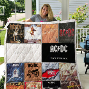 Ac/Dc Band Albums Quilt Blanket