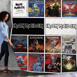 Iron Maiden Live Albums Quilt Blanket For Fans
