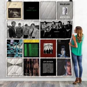 Joy Division Best Albums Quilt Blanket