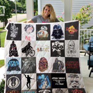 Star Wars T-Shirt Quilt Blanket