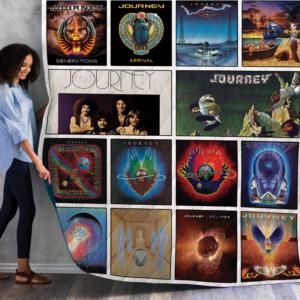 Journey Albums Quilt Blanket