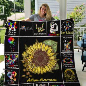 Autism Quilt Blanket