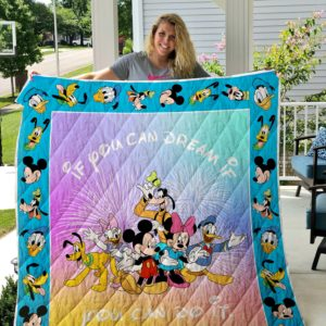 Mickey Mouse Inspire Quilt Blanket