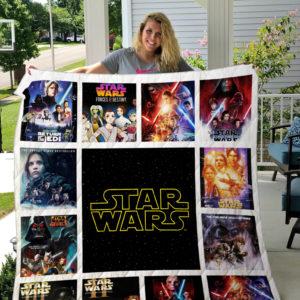 Star Wars Quilt Blanket 01