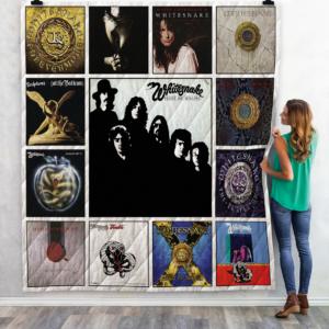 Whitesnake Quilt Blanket 02