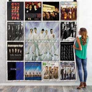 Backstreet Boys Quilt Blanket 02