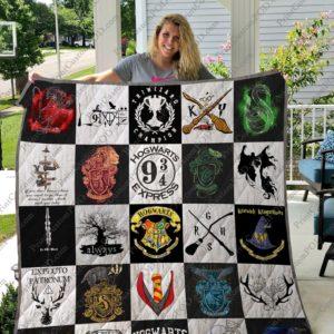 Harry Potter Custom Quilt Blanket