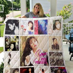 Selena Quintanilla Albums Quilt Blanket 01