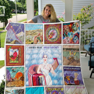 Little Feat Albums Quilt Blanket Ver13