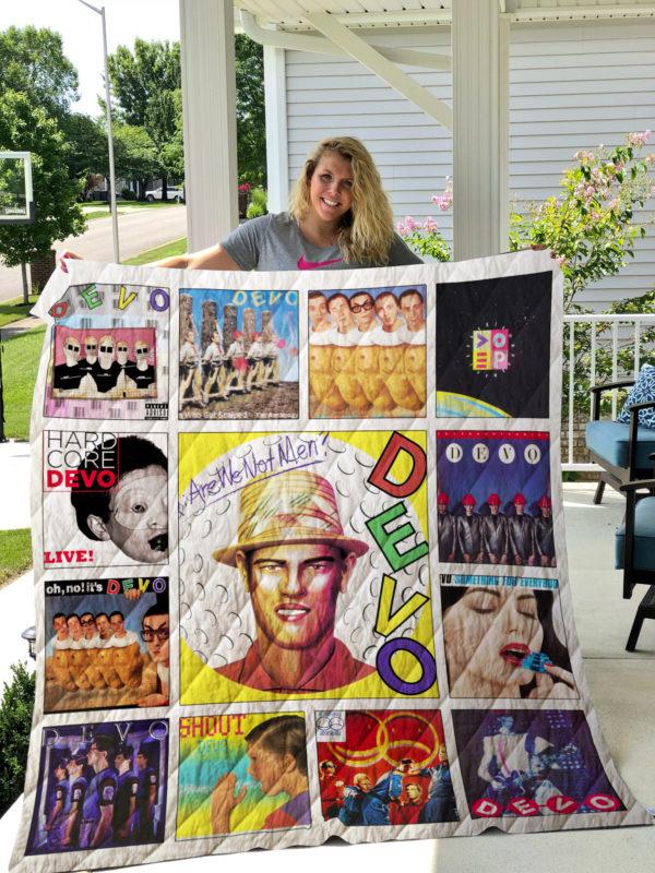 Devo Albums Quilt Blanket Ver13