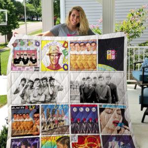 Devo Albums Quilt Blanket Ver14