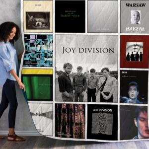 Joy Division Albums Quilt Blanket Ver 13