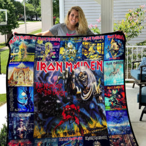 Iron Maiden Quilt Blanket 01154