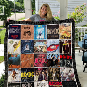 Acdc Albums Cover Poster Quilt Blanket Ver 2