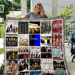 Backstreet Boys Albums Cover Poster Quilt Blanket Ver 2