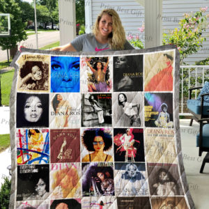 Diana Ross Albums Cover Poster Quilt Blanket Ver 2