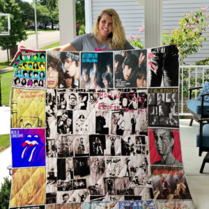The Rolling Stones Quilt Blanket 0936