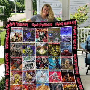 Iron Maiden Albums Cover Poster Quilt Blanket Ver 2