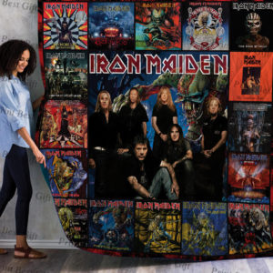 Iron Maiden Albums Cover Poster Quilt Blanket Ver 5