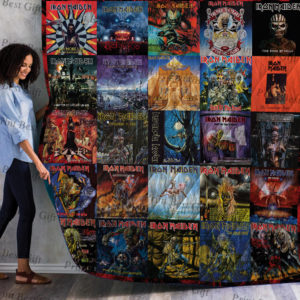 Iron Maiden Albums Cover Poster Quilt Blanket Ver 6