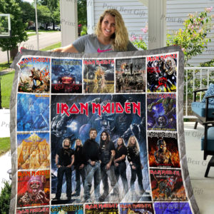 Iron Maiden Albums Cover Poster Quilt Blanket Ver 3