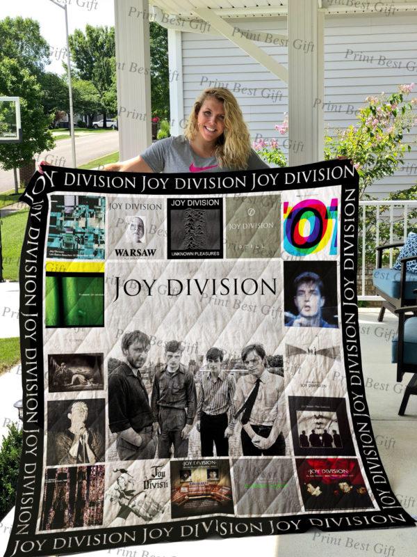 Joy Division Albums Cover Poster Quilt Blanket Ver 2
