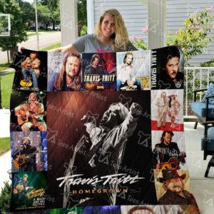 Travis Tritt Quilt Blanket 01111