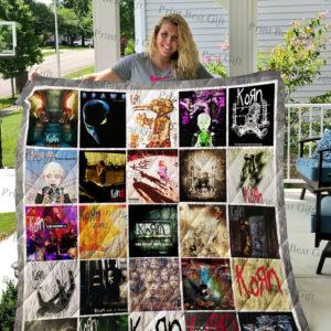 Korn Albums Cover Poster Quilt Blanket Ver 2