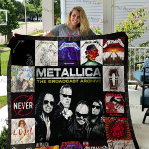 Metallica Albums Cover Poster Quilt Blanket Ver 2