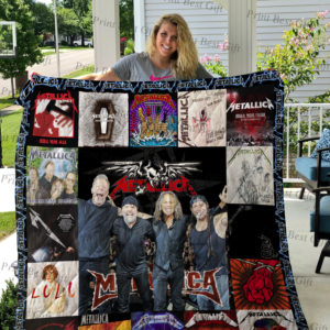 Metallica Albums Cover Poster Quilt Blanket