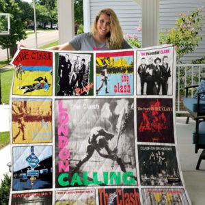 The Clash Albums Quilt Blanket For Fans Ver 13