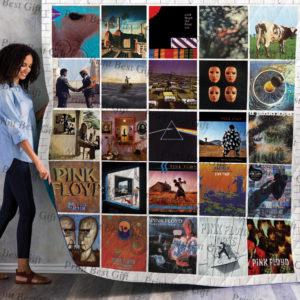 Pink Floyd Albums Cover Poster Quilt Blanket Ver 5
