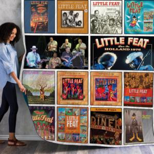 Little Feat Compilations Albums Quilt Blanket For Fans Ver 14