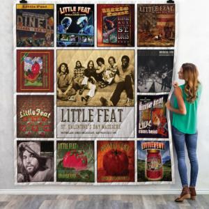 Little Feat Live Albums Quilt Blanket For Fans Ver 13