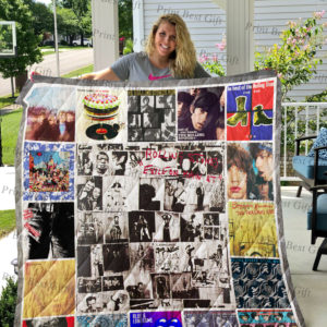 Rolling Stone Albums Cover Poster Quilt Blanket Ver 3