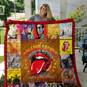 Rolling Stones Albums Cover Poster Quilt Blanket