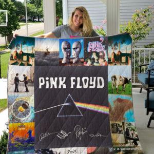 Pink Floyd Quilt Blanket For Fans Ver 17.2