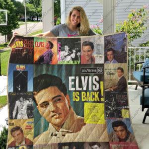 Elvis Presley Quilt Blanket Ver 17