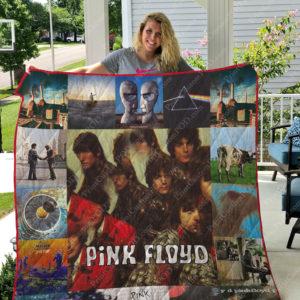 Pink Floyd Quilt Blanket For Fans Ver 17