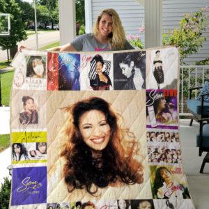 Selena Quilt Blanket For Fans Ver 17