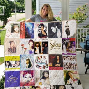 Selena Quilt Blanket For Fans Ver 25