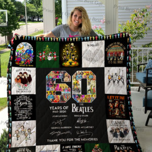 The Beatles T-Shirt Quilt Blanket