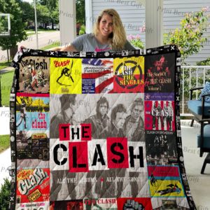 The Clash Albums Cover Poster Quilt Blanket