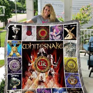 Whitesnake Albums Cover Poster Quilt Blanket