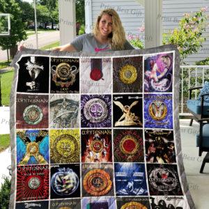 Whitesnake Albums Cover Poster Quilt Blanket Ver 2