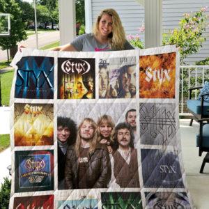 Styx Albums Quilt Blanket For Fans Ver 13