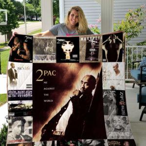 Tupac Shakur Quilt Blanket For Fans Ver 17