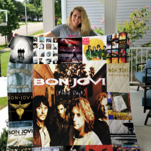 Jon Bon Jovi (Band) Quilt Blanket For Fans Ver 17
