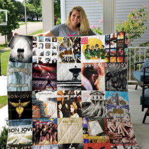 Jon Bon Jovi (Band) Quilt Blanket For Fans Ver 25