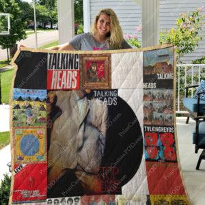 Talking Heads  Albums Quilt Blanket For Fans Ver 17